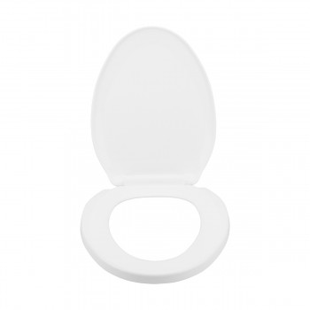<PRE>Slow Close No Slam Plastic Elongated Toilet Seat White</PRE>zoom5