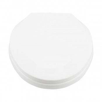 <PRE>Slow Close No Slam Plastic Elongated Toilet Seat White</PRE>zoom7