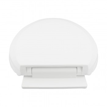 <PRE>Slow Close No Slam Plastic Elongated Toilet Seat White</PRE>zoom10
