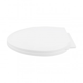 <PRE>Slow Close No Slam Plastic Elongated Toilet Seat White</PRE>zoom11