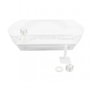 <PRE>Slow Close No Slam Plastic Elongated Toilet Seat White</PRE>zoom12