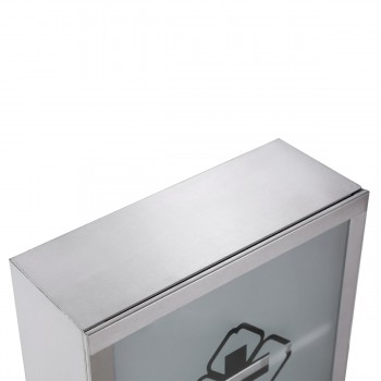 <PRE>Mini Stainless Steel Bathroom Medicine Cabinet Wall Mount Storage</PRE>zoom6