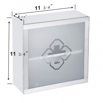 spec-<PRE>Mini Stainless Steel Bathroom Medicine Cabinet Wall Mount Storage</PRE>