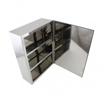 <PRE>Renovator's Supply Stainless Steel 19-3/4 X 13-3/4 Medicine Cabinets with Mirror</PRE>zoom7