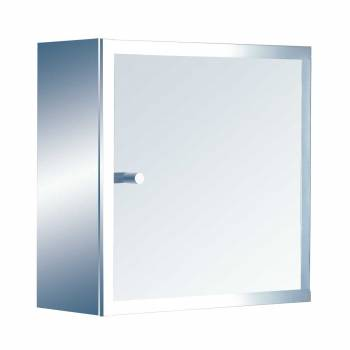Key Storage Cabinet Stainless Steel Surface Mount13524grid