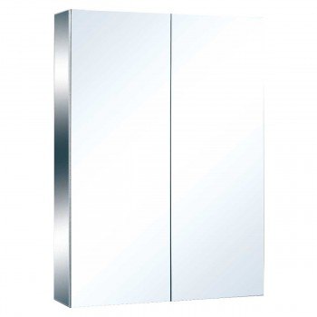 Stainless Steel Medicine Cabinet Double Mirror Door Large 13525grid