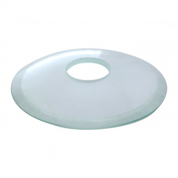 <PRE>Replacement Waterfall Faucet Clear Glass Disc Plate </PRE>