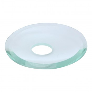 <PRE>Replacement Waterfall Faucet Clear Glass Disc Plate </PRE>zoom4