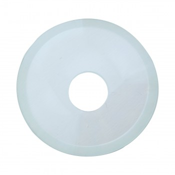 <PRE>Replacement Waterfall Faucet Clear Glass Disc Plate </PRE>zoom5
