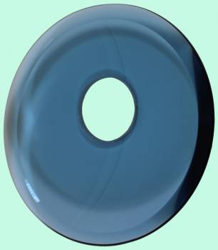 <PRE>Replacement Waterfall Faucet Blue Glass Disc Plate </PRE>