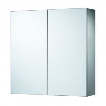 Medicine Cabinet Brushed Stainless 23 5/8 Surface Mount   13580grid