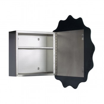 <PRE>Medicine Cabinet Brushed Stainless  25 1/2 Surface Mount   </PRE>zoom4