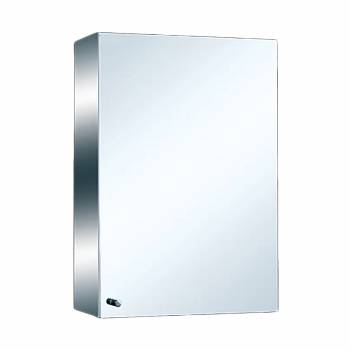 Medicine Cabinet Brushed Stainless 21 3/4 Surface Mount  13585grid