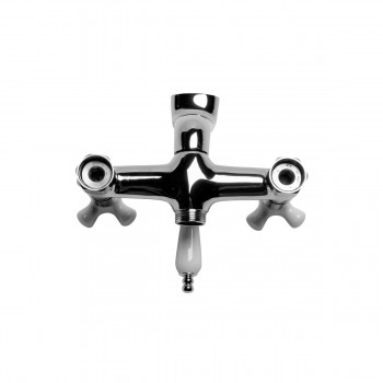 <PRE>Tub Shower Faucet Part  Wall Mount 6inch Center Chrome </PRE>zoom5