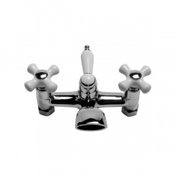 <PRE>Tub Shower Faucet Part  Wall Mount 6inch Center Chrome </PRE>zoom7