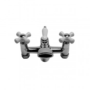 Cross Handle Tub Faucet Chrome Plated Faucet Assembly Only