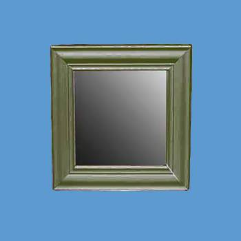 <PRE>Mirror Bayberry Green Pine 12&quot; X 12&quot; Mirror Only </PRE>