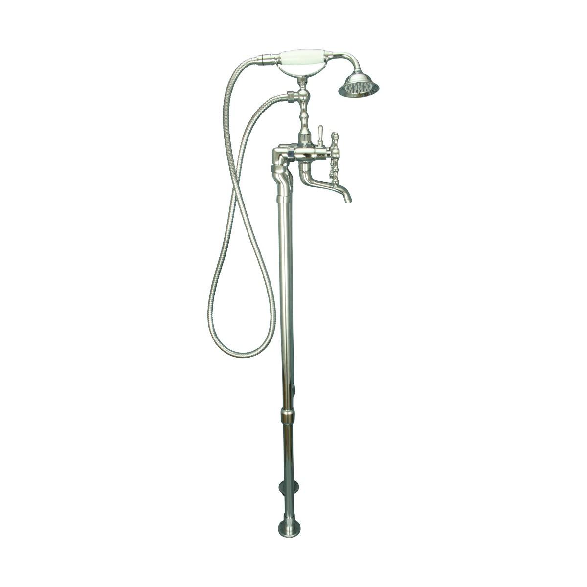 ... U003cPREu003eClawfoot Tub Faucet Freestanding Handheld Shower Chrome ...