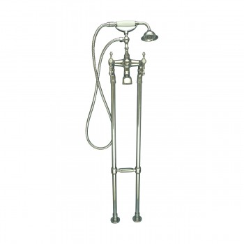 <PRE>Clawfoot Tub Faucet Freestanding Handheld Shower Chrome </PRE>zoom3