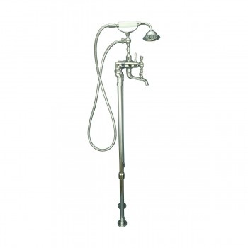 <PRE>Clawfoot Tub Faucet Freestanding Handheld Shower Chrome </PRE>zoom8