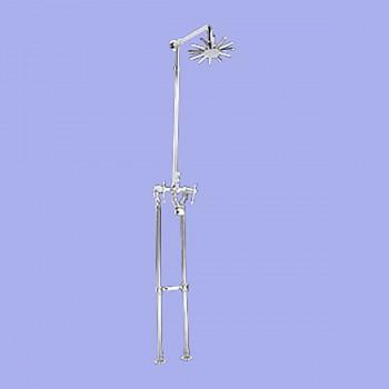 <PRE>Clawfoot Tub Faucet Freestanding Riser Shower Chrome </PRE>