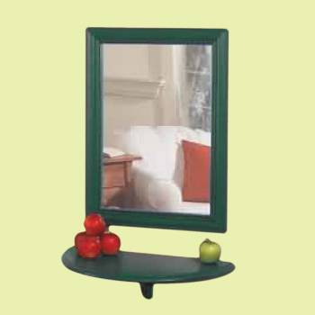 Mirror Bayberry Green Pine 18H X 36W Mirrors Mirror Decorative Mirror