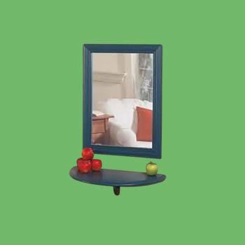 """<PRE>Bathroom Shelves White Pine 21 3/4inchW x 10 1/2"""" Proj </PRE>zoom2"""