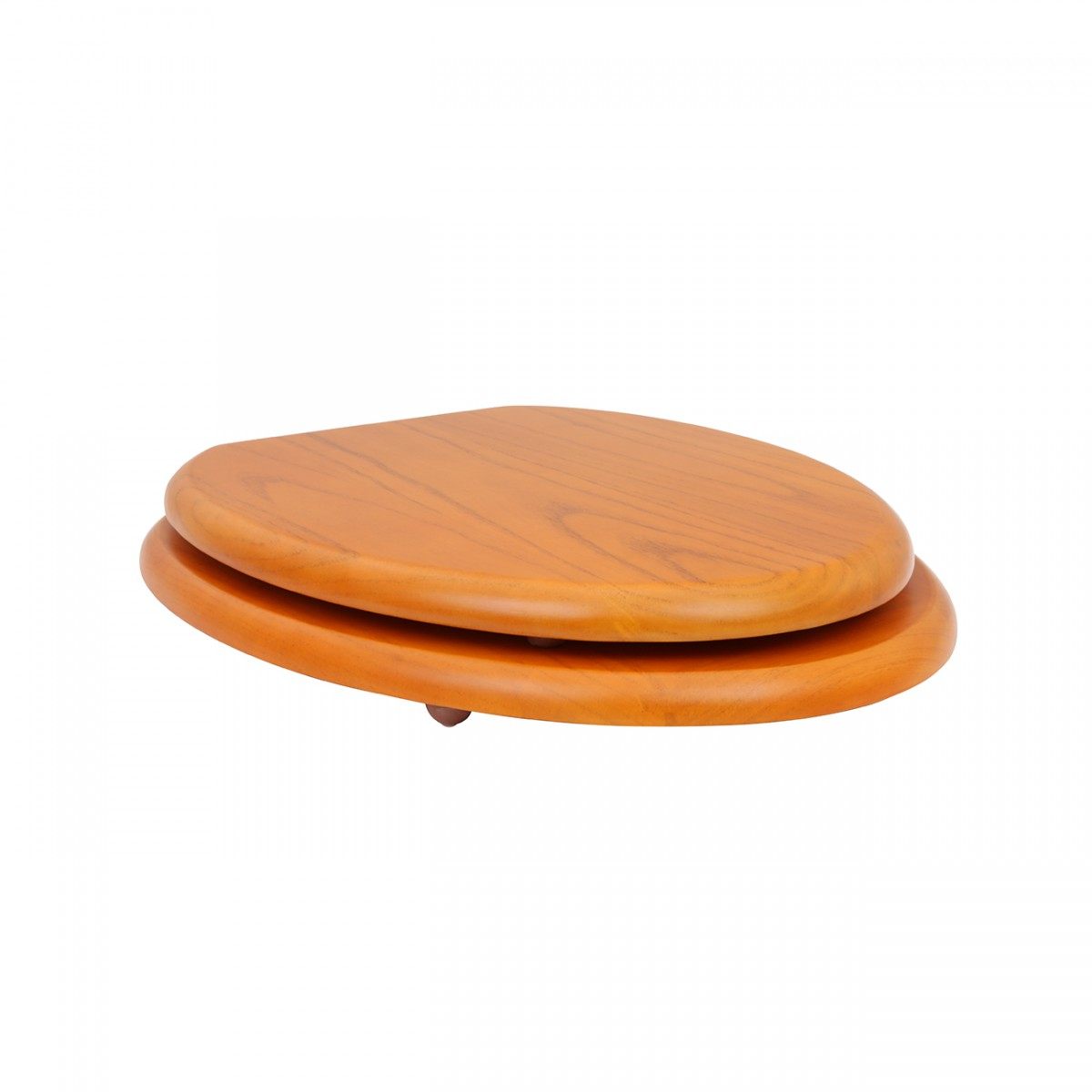 Elongated Toilet Seat Solid Wood Golden Oak Brass PVD Hinge wooden toilet seats elongated toilet seat elongated toilet seats