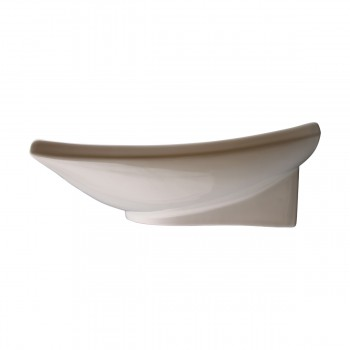 <PRE>Bathroom Sink White China Deluxe Square Wall Mount </PRE>zoom9