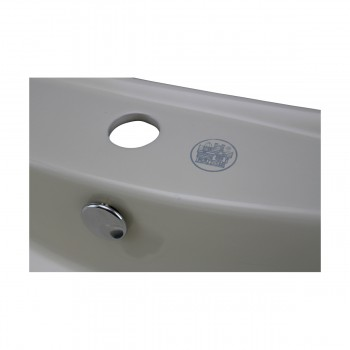 <PRE>Renovator's Supply Bathroom Sink Vitreous China Square Vessel Wall Mount </PRE>zoom8
