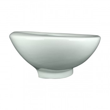 <PRE>Bathroom Vessel Above Counter Sink White China Belle With Overflow</PRE>zoom4