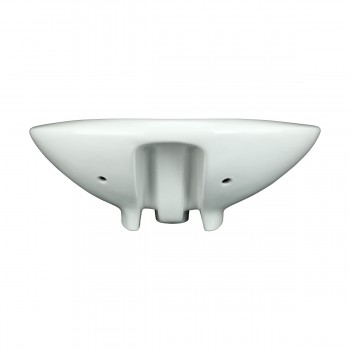 <PRE>Bathroom Vessel Above Counter Sink White China Belle With Overflow</PRE>zoom5