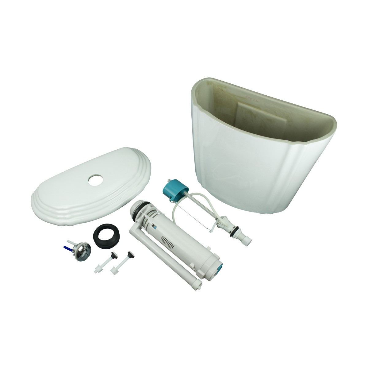 Toilet Part White Sheffield Dual Flush Toilet Tank Only Toilet Tank Only White Toilet Tank Dual Flush Toilet Tank