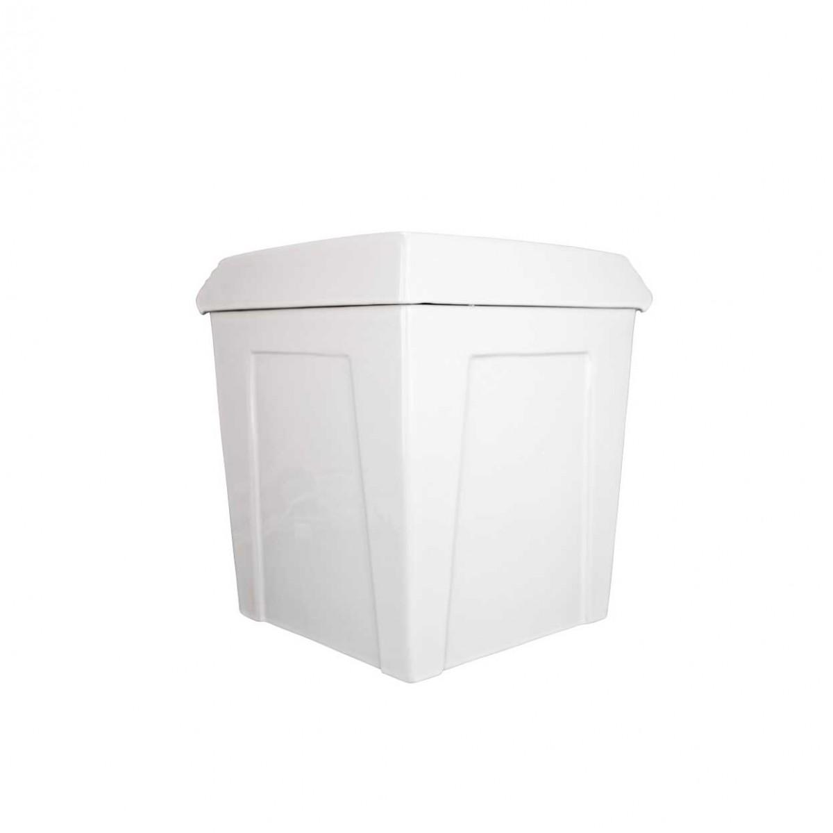 Dual Flush Round Two Piece Corner Bathroom Toilet White Ceramic Space Saving Modern Round Toilet Corner Ceramic Toilet Dual Flush Toilet