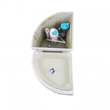 <PRE>Dual Flush Round Two Piece Corner Bathroom Toilet White Ceramic Space Saving</PRE>zoom7
