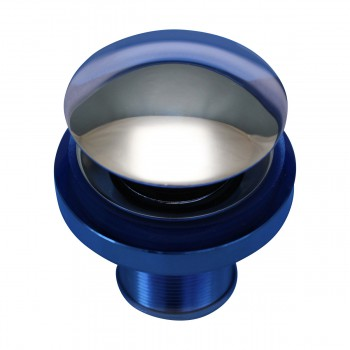<PRE>Renovator's Supply Blue Tempered Glass Vessel Sink with Drain and Mounting Ring</PRE>zoom8