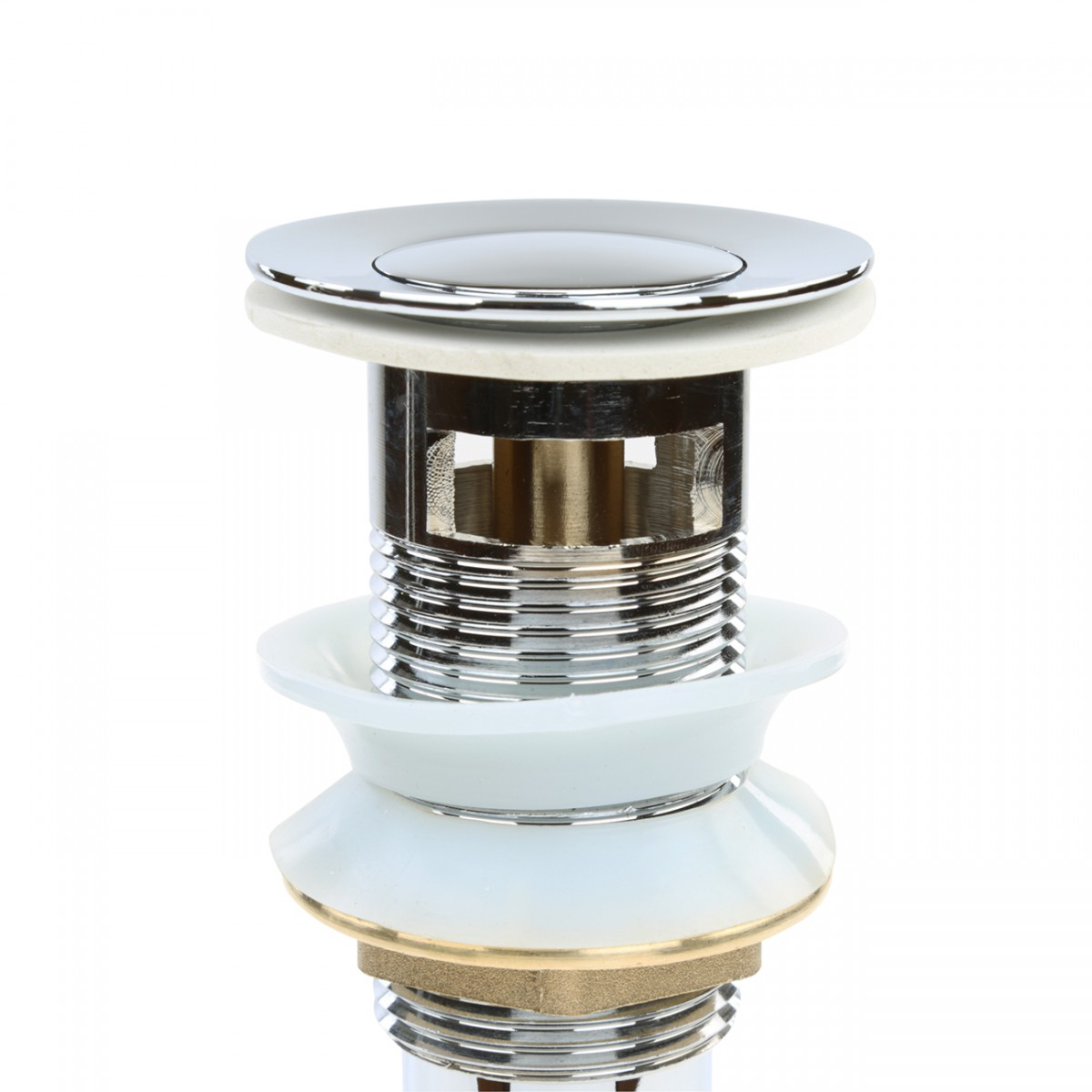 Sink Drain Chrome PopUp With Overflow Chrome Drain Bathroom Sink Drain Drain With Overflow