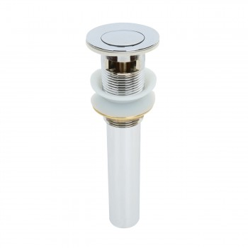 Sink Drains - Pop-Up Drain Chrome With Overflow by the Renovator's Supply