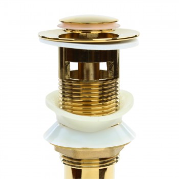 <PRE>Sink Drain PVD Brass Pop-Up With Overflow </PRE>zoom5