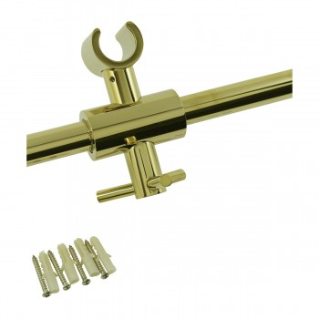 <PRE> PVD Brass Bathroom Handheld Slide Bar Heavy Duty Brass </PRE>zoom3