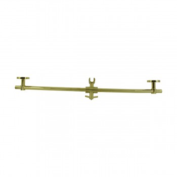 <PRE> PVD Brass Bathroom Handheld Slide Bar Heavy Duty Brass </PRE>zoom9