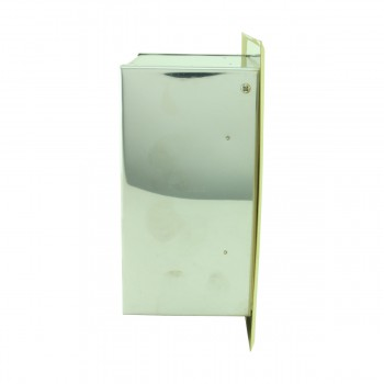 <PRE>Recessed Toilet Paper Tissue Holder Gold Stainless Steel </PRE>zoom5