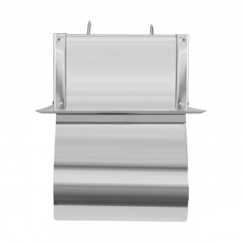 Toilet Paper Holder Stainless Steel Polished With Lid Recessed Toilet Paper Holder Stainless steel tissue paper holder in wall toilet roll holder