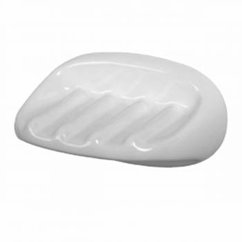 Ceramic Soap Dish Wall Mount Porcelain