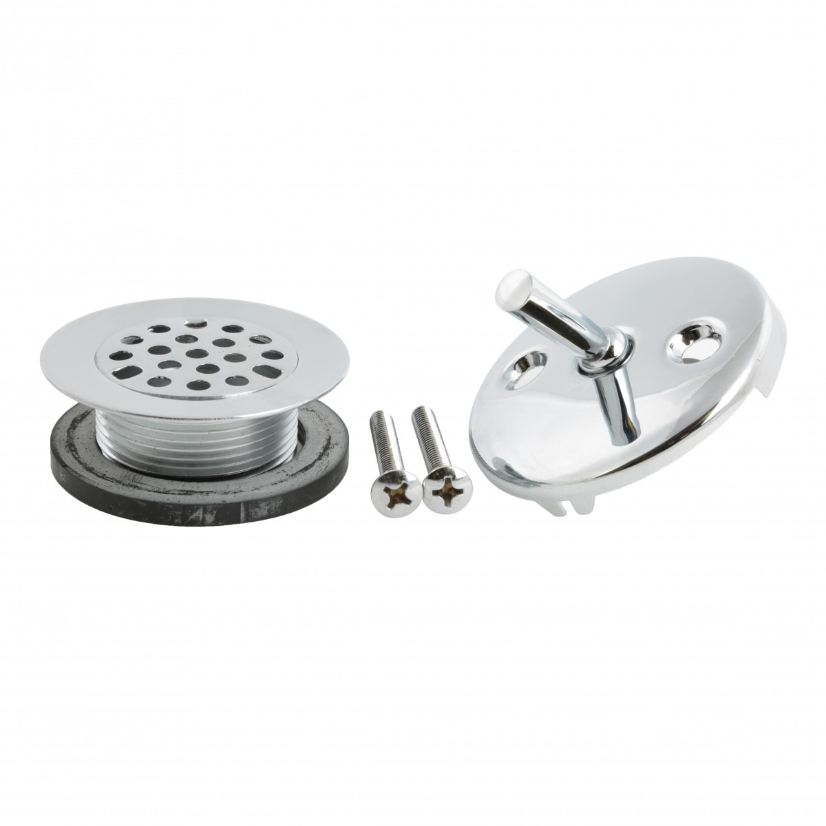 Tub Drain And Trip Lever Overflow Plate Replacement Parts