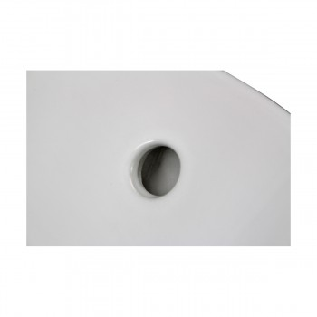 Bathroom Vessel Sink White China Evans Square bathroom vessel sinks Countertop vessel sink Bathroom Vessel Sink
