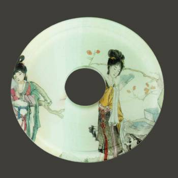 spec-<PRE>Replacement Waterfall Faucet Geishas Glass Disc Tray Plate </PRE>
