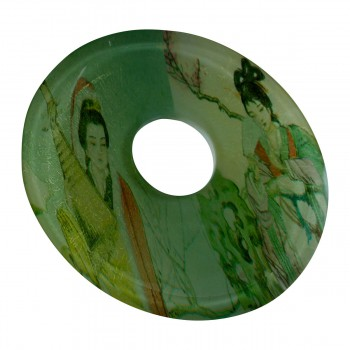 <PRE>Replacement Waterfall Faucet Geishas Glass Disc Tray Plate </PRE>zoom5