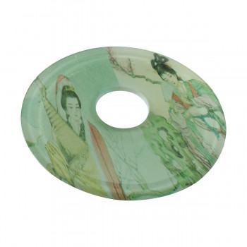 <PRE>Replacement Waterfall Faucet Geishas Glass Disc Tray Plate </PRE>zoom9