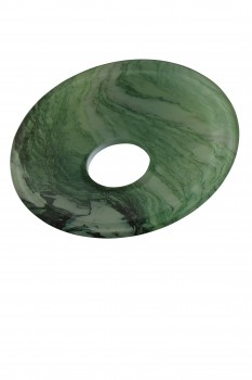 <PRE>Replacement Waterfall Faucet Glass Disc Plate Arabescato </PRE>zoom1
